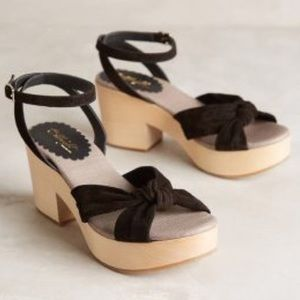 Anthropologie Miss Albright Vintage Style Shoes
